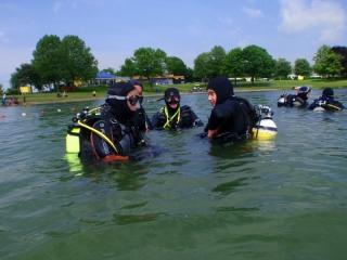 Tauchausbildung Freigewässer