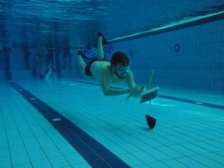 Tauchausbildung Schwimmbad