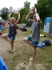 Yoga Katta und Colin