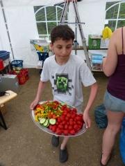 Andreas beim Küchendienst