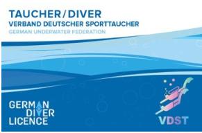 German Diver Licence